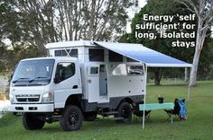 One of my top three overland vehicles. You can pack it in a shipping container to take with you anywhere!