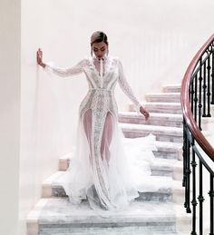 Beyonce Grammys 2016 // Inbal Dror Fall 2016 Bridal Collection