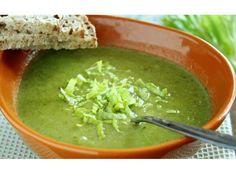 Polévka z řapíkatého celeru - | Prostřeno.cz Guacamole, Vegan, Ethnic Recipes, Food, Red Peppers, Essen, Meals, Vegans, Yemek