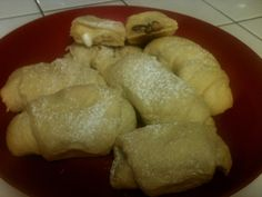 Reese's Stuffed Crescent Rolls!  Ridiculously easy and soooo yummy!