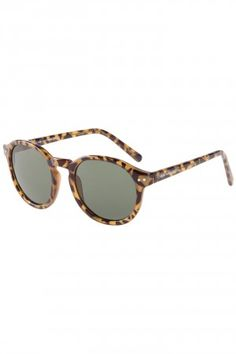 Cheap Monday Circle Sunglasses (honey turtle) #skatedeluxe #sk8dlx #sunglasses #cheap monday