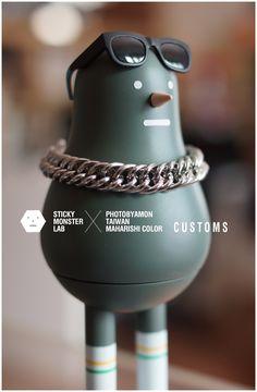 Sticky Monster Lab customs SML / photobyamon