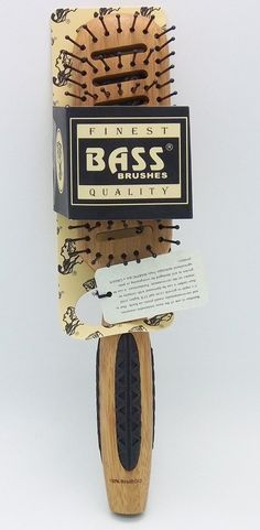 Brush - Large Wood Vent Nylon Bristle Rubber Ring Grips Bass Brushes 1 Brush -- More info could be found at the image url.