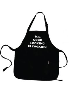 Father Gift Boyfriend Gift Husband Gift For Men Personalized Mens Mr GOOD LOOKING Is COOKING Apron Grilling Gifts For Dad Grill Aprons . by gulftees on Etsy https://www.etsy.com/listing/191212077/father-gift-boyfriend-gift-husband-gift