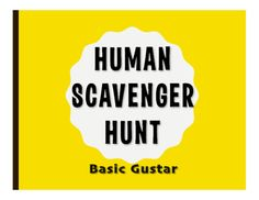 Human scavenger hunts are a great way to get kids moving, mixing, and speaking in Spanish! Students work to find students matching specific prompts and they write in their findings. It is a great review activity that also serves as a name game, ice breaker, and community building activity.This file includes a 25-prompt scavenger hunt and instructions for how to use it in class.No prep - just print and go for 15 minutes of conversation in the target language!