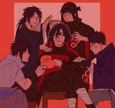 All Hail the Uchiha King of Classy Sass. Naruto Shippuden Sasuke, Naruto Kakashi, Anime Naruto, Madara Susanoo, Naruto Clans, Neji E Tenten, Naruto Cute, Otaku Anime, Boruto