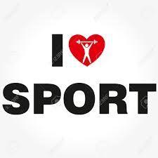 Afbeeldingsresultaat voor i love sport