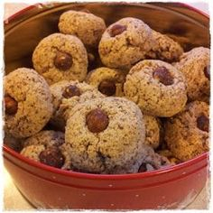 Mat på et fat matblogg.: Nøttemakroner. Christmas And New Year, Xmas, Norwegian Christmas, Cheesecakes, Holidays And Events, Muffin, Food And Drink, Favorite Recipes, Sweets
