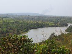 #Guinee, #VoyageGuinee, #Boke. A proximité du musé de Boké, nous avons une vue sur le fleuve Rio Nunez.