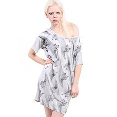 AllCats' Longline Exposed Stithcing Dress $37.20