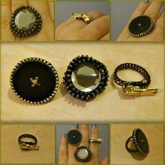 Gemstone Rings, Zipper, Gemstones, Facebook, Accessories, Jewelry, Jewlery, Gems, Jewerly