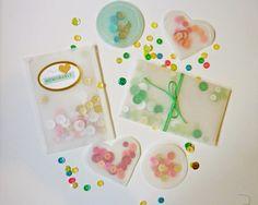 DIY Tutorial Vellum Pockets mit Pailletten von Anke Kramer für www.danipeuss.de | Sequins