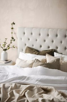 Bed Pillows, Pillow Cases, Sweet Home, Interior, Furniture, Home Decor, Lund, Bedroom Ideas, Products