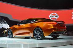 Detroit 2014: Nissan Sport Sedan Concept - left rear qtr