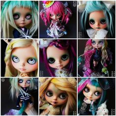 Amazing Custom Blythe Doll | Recent Photos The Commons Getty Collection Galleries World Map App ...