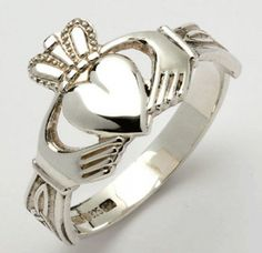 A Claddagh can be a beautiful, deeply symbolic wedding ring or a meaningful gift for a friend.