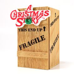 A Christmas Story Ornaments, have this also!  When u open it, it has different sayings from the movie and the leg detaches and u can hang it up as well.