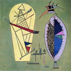 The Athenaeum - Three Between Two (Wassily Kandinsky - )