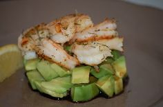 Onze Franse Keuken: Kerst 2012: Voorgerecht - Torentje van avocado & g...