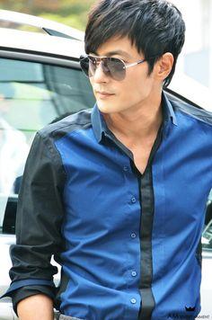 Jang Dong Gun - Looking dapper as usual. ♥