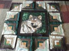 Pin by Sherrill Taylor on Wolf Quilts | Pinterest
