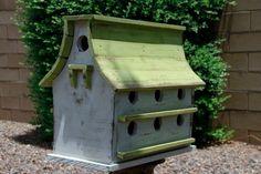 Large Bird Houses | Purple Martin bird house large bird house by LynxCreekDesigns, $199.99