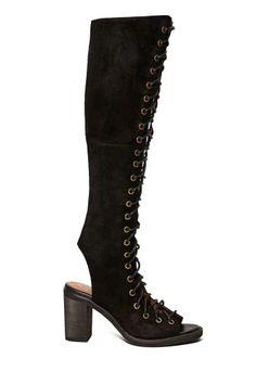Jeffrey Campbell Countess Sandal They're like Sakura's boots from Naruto Shippuden!!