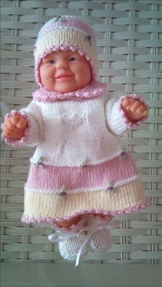 Mini baby 21 cm. Opskrift nr. 11