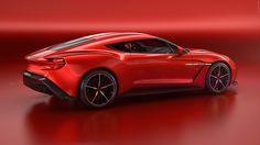 2016 Aston Martin Vanquish Zagato Concept  #2016MY #Aston_Martin_Vanquish…
