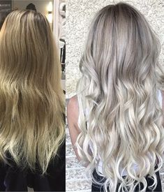 HOW-TO: Yellow Blonde to Lived-In Sombre - Hair Color - Modern Salon