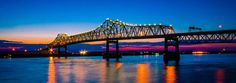 Baton Rouge means Red Stick in French and gets its name from the French settlers Bienville and Iberville when they first arrived on the bluff of the Mississippi River where Southern University stands today. It is the capital of Louisiana and a hub city with easy access to New Orleans, Lafayette, St. Francisville and many south Louisiana tourist attractions. Historic museums, plantations, artistic venues, outdoor adventures and bountiful eating experiences await you.