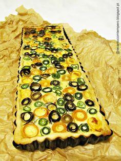 Tarte rosinhas de legumes