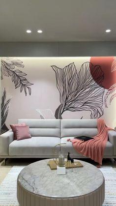 Smart Home Design, Unique House Design, Home Room Design, Home Interior Design, Indian Room Decor, Living Room Wall Designs, Wooden Sofa Set Designs, Modern Exterior House Designs, Luxury Homes Interior