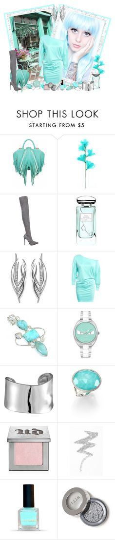 """""""Let's do Lunch"""" by cupcakecouturegirls ❤ liked on Polyvore featuring The Volon, Le Silla, By Terry, Shaun Leane, Fendi, Lord & Taylor, Ippolita, Urban Decay, NYX and Christian Dior"""