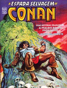 Cover for A Espada Selvagem de Conan (Editora Abril, 1984 series) #20