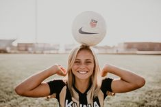 Boise senior photographer kuna high school soccer class of 2018 brooke ray senior pictures summer sports fun laughter High School Soccer, College Soccer, School Sports, Soccer Senior Pictures, Soccer Poses, Senior Pics, Soccer Shoot, Senior Posing, Senior Portraits