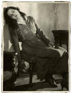 "kafkasapartment: ""Sybille Schmitz in a scene from Vampyr (1932). Carl T. Dreyer, photographer. """