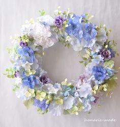 ハンドメイドマーケット minne(ミンネ)| lavender blue wreath