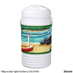 """Ship on Bay"" Igloo Cooler"
