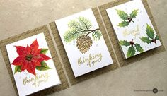 Hi! Today I share a simple flap card design along with tips for achieving a gorgeous stamped image!