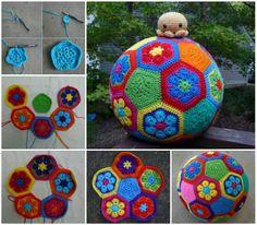 Crochet Soccer Ball!