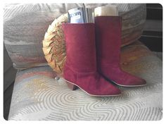 Awesome nos vintage boots. Goodwill.