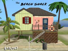three small beach lot residential