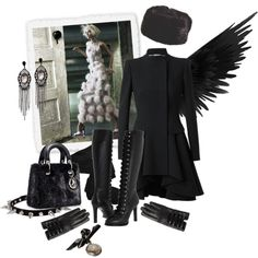 A fashion look from January 2013 featuring belted trench coat, fogal stockings and lace-up platform boots. Browse and shop related looks. Knee High Platform Boots, Fashion Looks, Female, Clothes For Women, Winter, Polyvore, Jackets, Shopping, Alexander Mcqueen