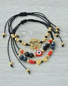 Lindas Diy Friendship Bracelets Patterns, Diy Bracelets Easy, Bracelet Crafts, Cute Bracelets, Handmade Bracelets, Jewelry Bracelets, Stylish Jewelry, Cute Jewelry, Beaded Jewelry