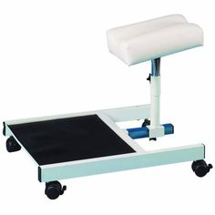 The pedicure stand comes as a basic unit so you can use your own pedinett tray or foot spa. The footrest is height and reach adjustable. It has locking castors and non-slip rubber matting. Height 15.5cm, Width 34cm, Depth 45cm *Please refer to terms and conditions for delivery details.