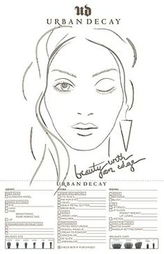 1000+ images about Face Chart on - 15.2KB