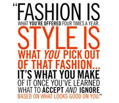 Quote from fashion icon Lauren Hutton
