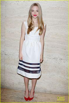 Amanda Seyfried em mais um evento para promover seu novo filme: 'Les Miserables'.