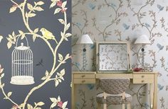 Introducing Nina Campbell's birdcage walk design! An elegant trail featuring dainty birds. Click the link in the bio for the best price per roll. #bird #trail #floral #nature #ninacampbell #sunday #sundayfunday #weekend  #interior #interiors #interiores #interior123 #interiordesign #interiordesigner #wallpaper #wallpapersales #wallcovering #decoration #decor #instalike #instagood #instadaily #lfl #fff #follow4follow #inspiration #home #instadecor #designer #instaart